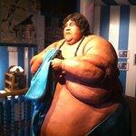 World's fattest man exhibit
