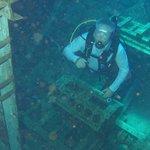 USS Kittiwake wreck dive.