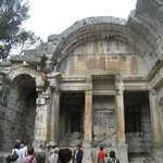 Restos del Templo de Diana.