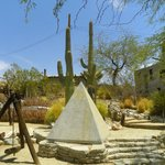 on the grounds of the pueblo