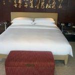 Detalhe da cama num apartamento