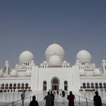 Entrando na Mesquita