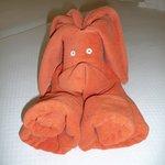 Handtuchkreation des Zimmerservice