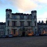 Melville Castle entrance.