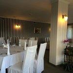the smaller restaurant hall