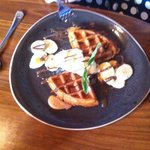 Banoffee Waffles