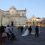 Lecce ,Piazza del Duomo. Matrimoni