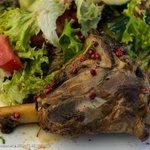 Pelecanos Restaurant - Lamb entree