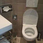 decent bathroom size