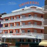 Hotel von der  Frontseite