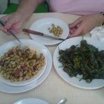 Habanas Catalana and pimientos de padron.  Delicious.