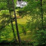 Sandburg Home and Front Lake