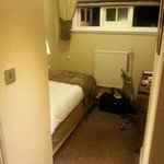 Room 522...the smallest hotel room I have EVER slept in