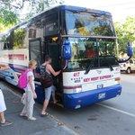 Tour bus to Key West