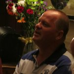 frits singing in O'Connors pub