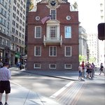 Old State House down the street