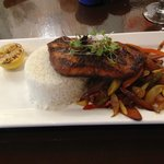 Salmon de la Costa @ Oya Cuban Cafe, Malden, MA