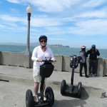 woop look at me on the segway!
