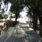 acceso a playa