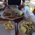 Grigliata di pesce e fritto