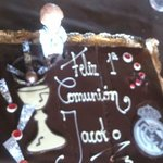 La tarta...ummmm