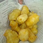 Dave's Fried Cheese Curds.  These were delicious!  Ended up ordering a second round for our tabl