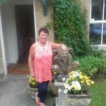 me and my mum enjoyed it ,so i  put picture of joan brisco, maded us feel welcome was lovely, xx