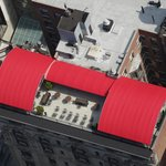 You can see the rooftop terrace from the Empire State Building!
