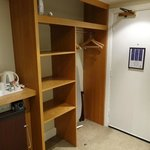 Room 236 - hanging & shelf space