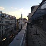 Communal balcony