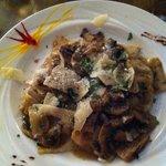 Mushroom Ravioli - yum!