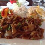 steak with onion :-)