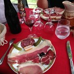 The charcuterie course