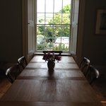 The lovely breakfast room