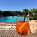 Pool and spritz