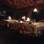 Gorgeous, romantic dining room
