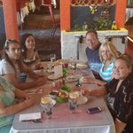 Hebert Family at La Fuente Restaurant