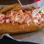 Double stuffed lobster roll!