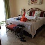 Bedroom in the one bedroom