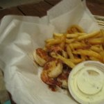 Kids shrimp and fries