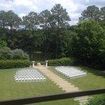 Setup for a beautiful wedding