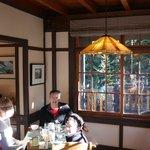 breakfast in the lodge