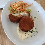 Smoked fish cakes ... Very very good