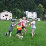 Frolicking in Salzburg