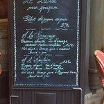 The menus