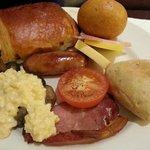 La mia colazione a buffet