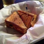 Fantastic jalapeno pimiento grilled chese samich!