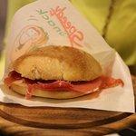 Sanduíche de Prosciutto - Delicia!