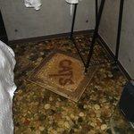 Floor of the room