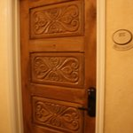 Hotel room doors